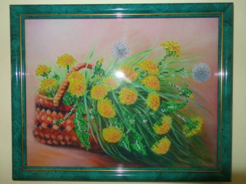Картины бисером для сада и дома