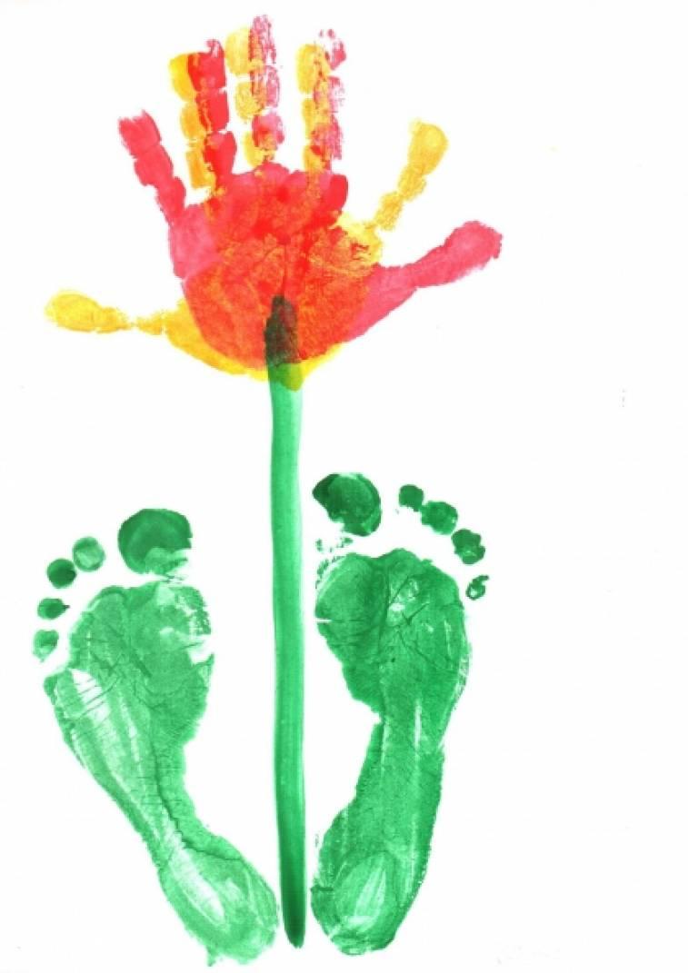 Нетрадиционное рисование «Рисуем ладошками и даже ножками!»