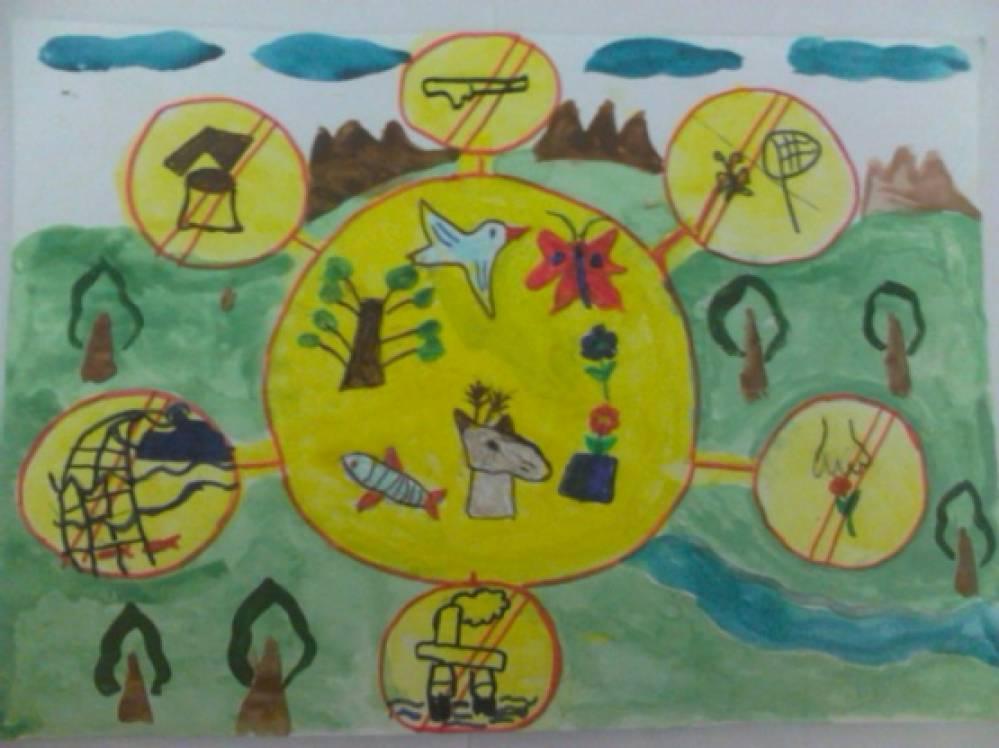 Картинки про охрану природы детские