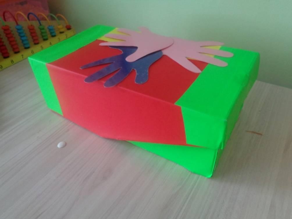 Дидактическая игра «Волшебные ладошки»