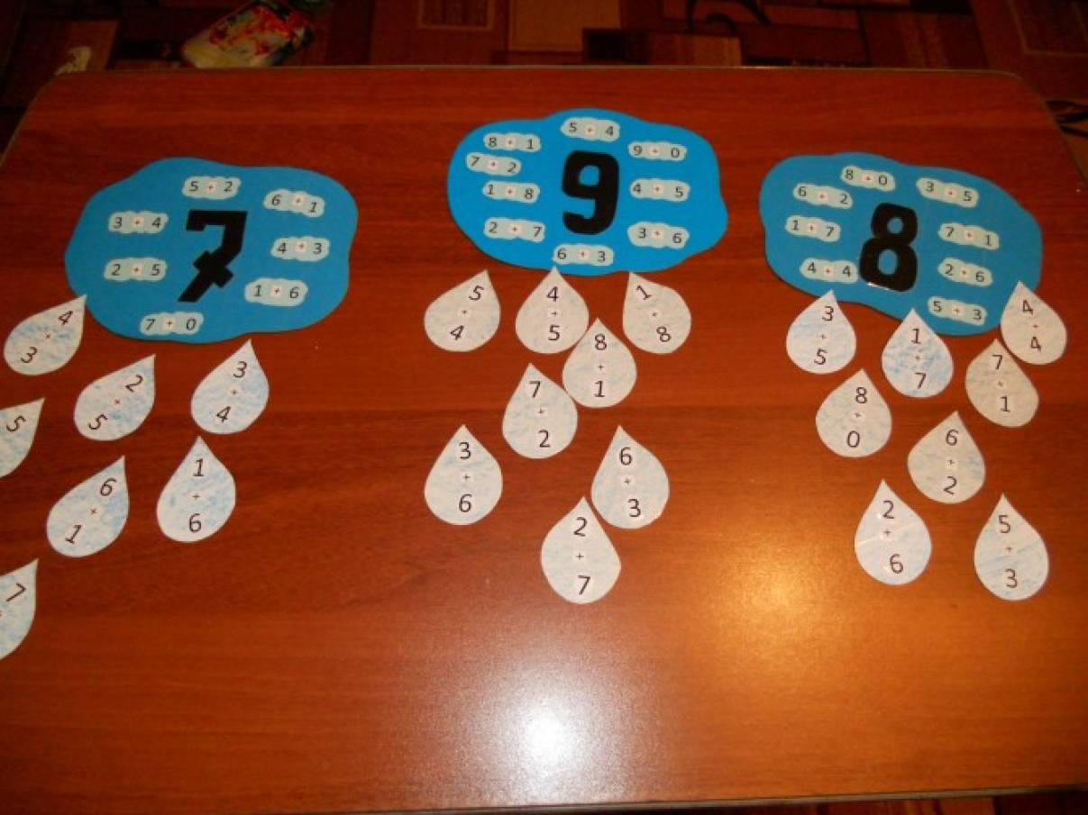 Пособия по математике для дошкольников своими руками 154