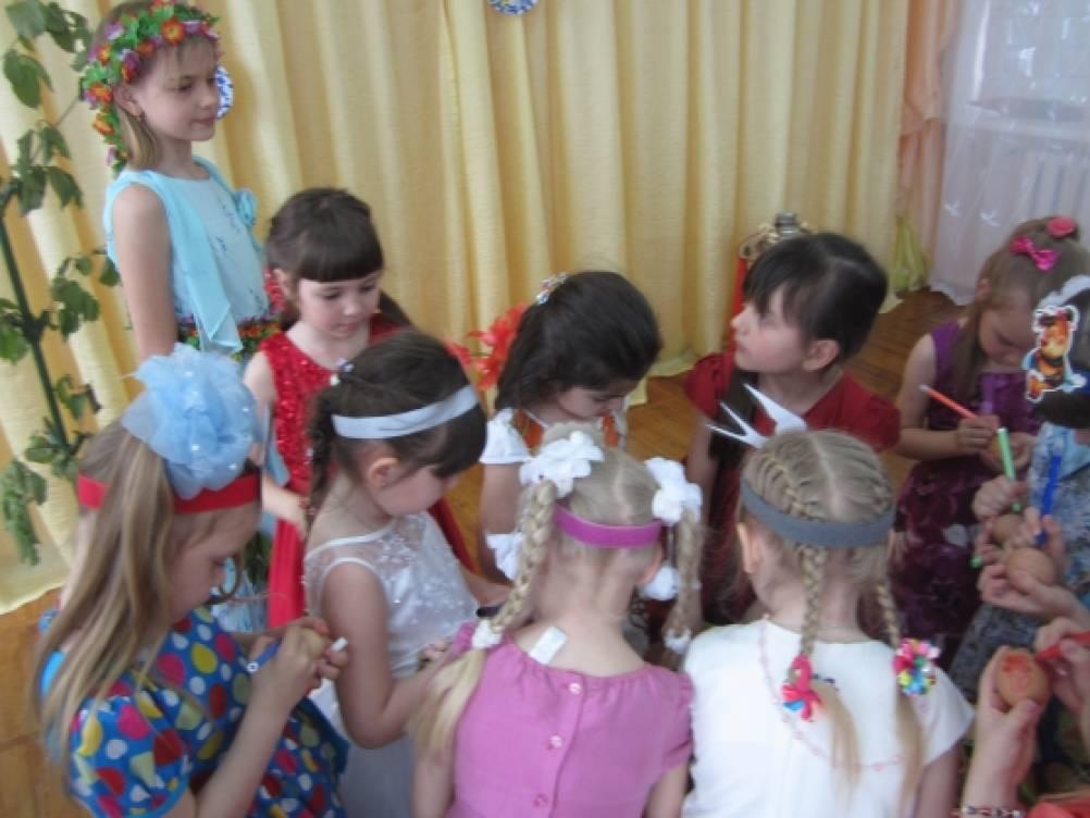 «Пасха». Сценарий праздника для детей старшей группы