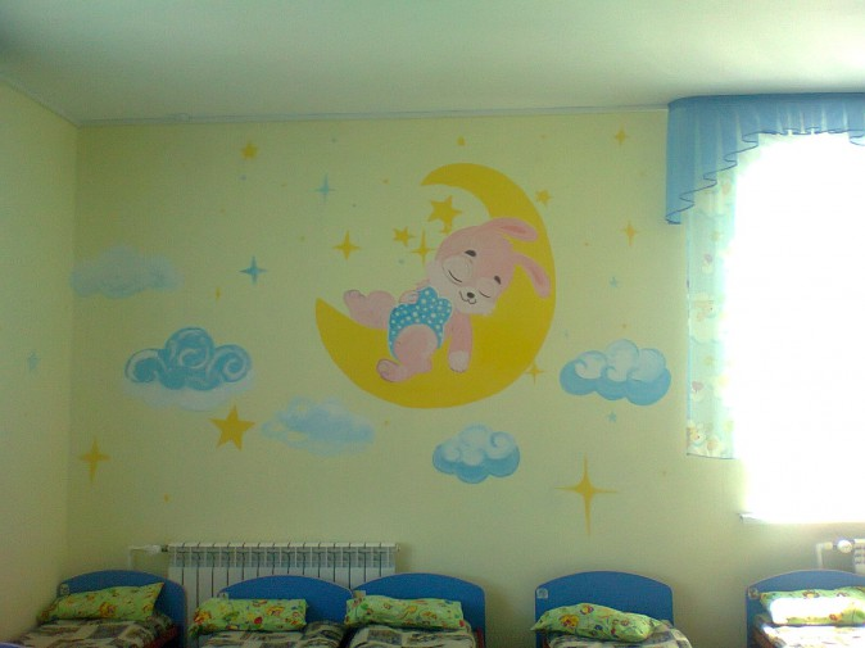 Картинки для спальни в детском садике