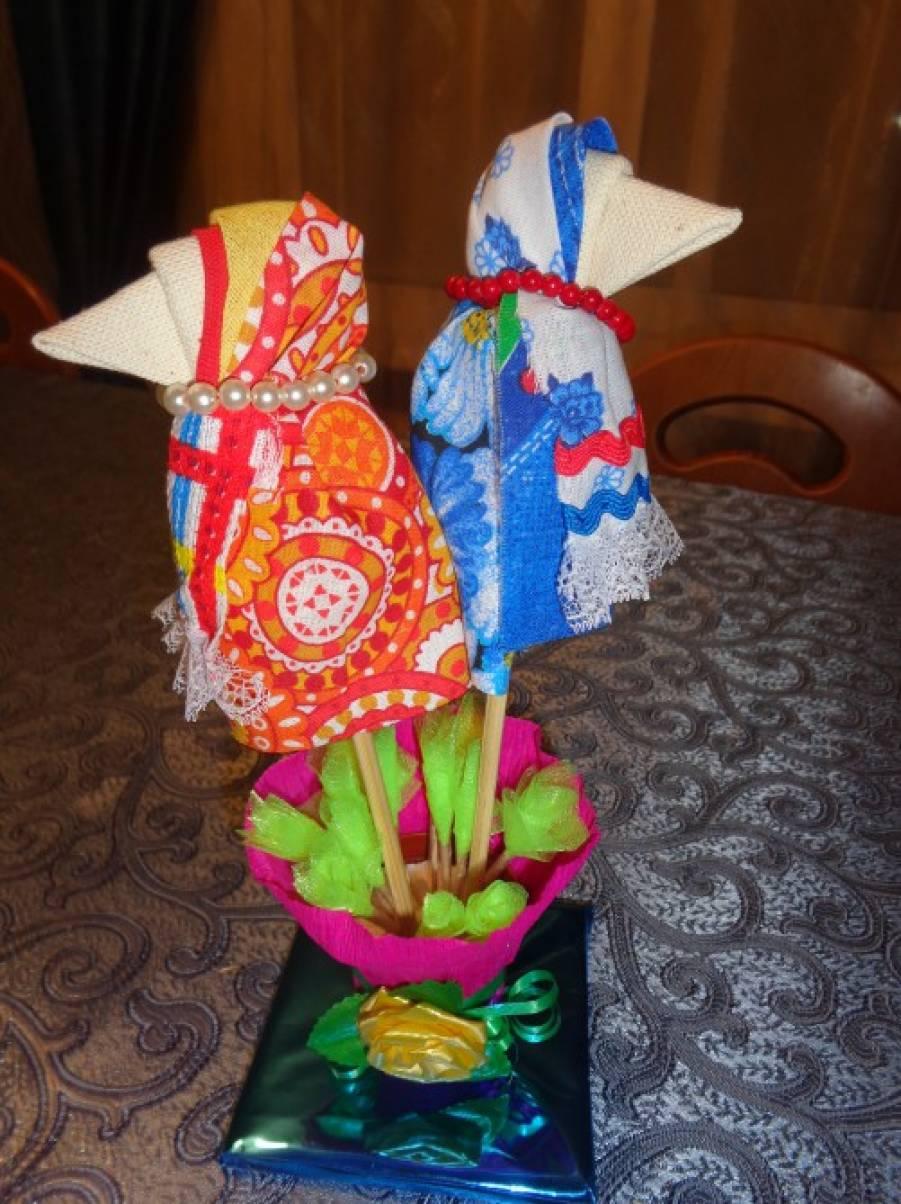 Мастер-класс по изготовлению игровой куклы «Сорока»