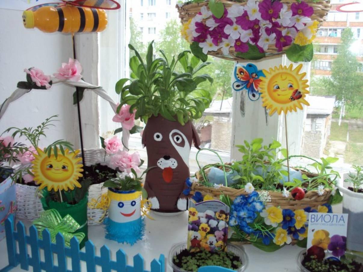 «Весеннее цветочное чудо» на подоконнике.