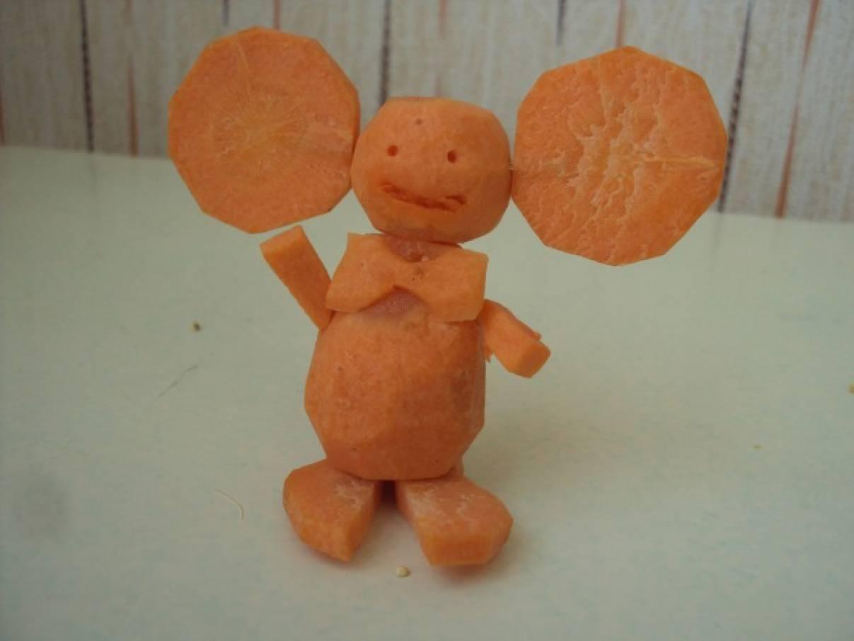Сделать поделку из моркови в детский сад 4
