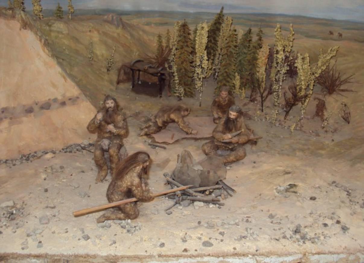 картинки как жили первобытные люди