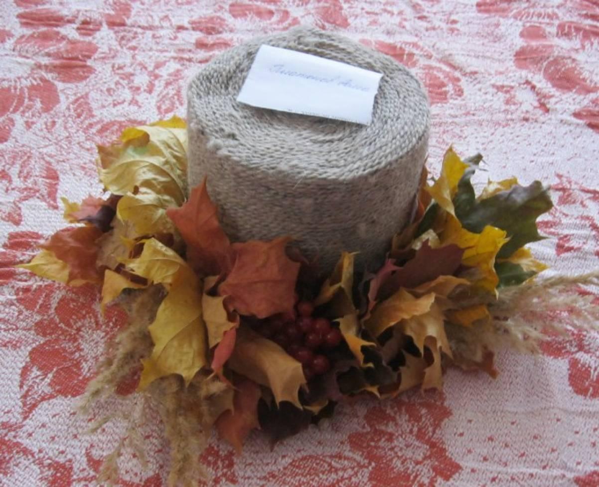 шляпа из листьев своими руками фото это только том