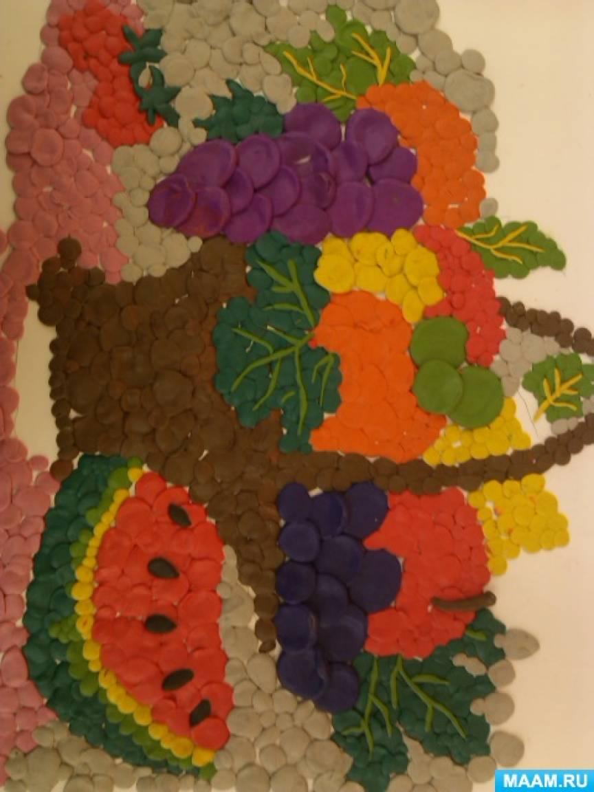 Творческий проект по мозаичной пластинографии «Пластилиновая ворона»