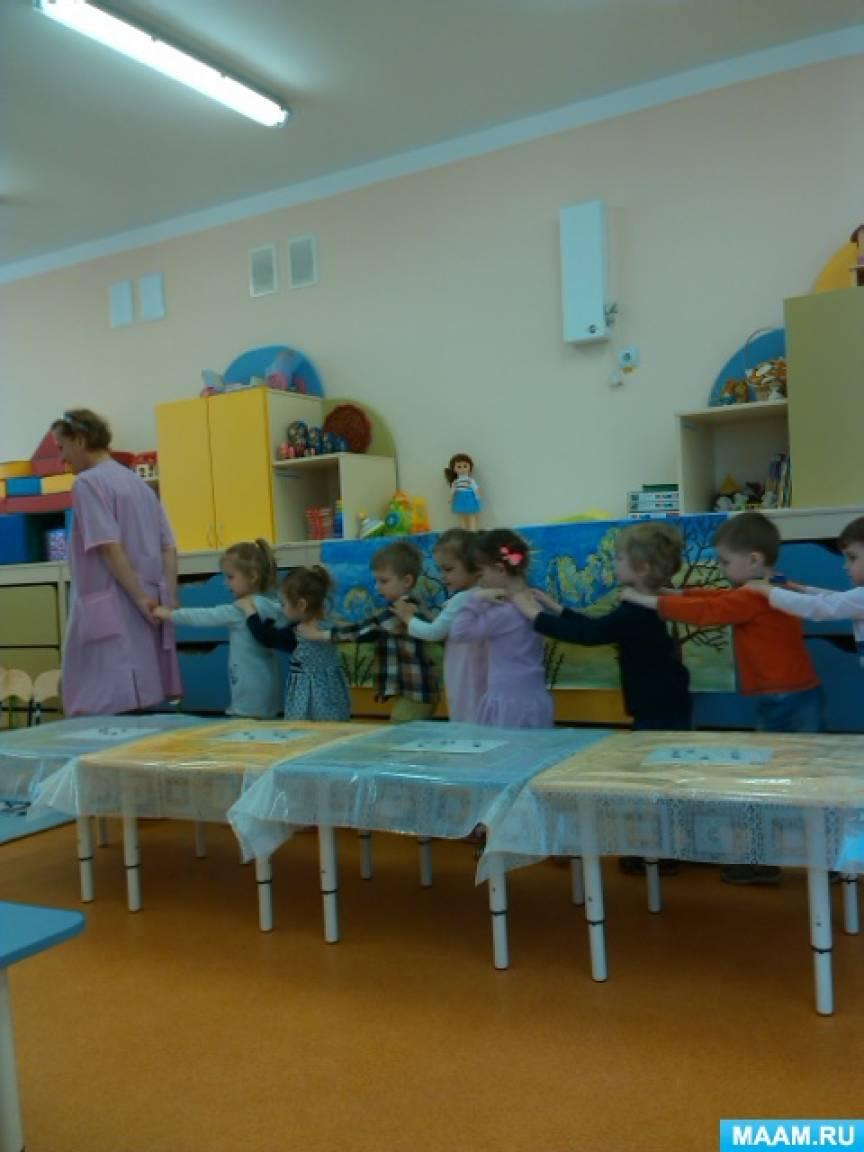 ОД по художественному творчеству в младшей группе. Коллективная рельефная лепка «Верба. Вход Господень в Иерусалим»