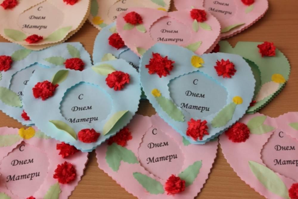 Открытки в виде сердца на день матери, для открытки марта