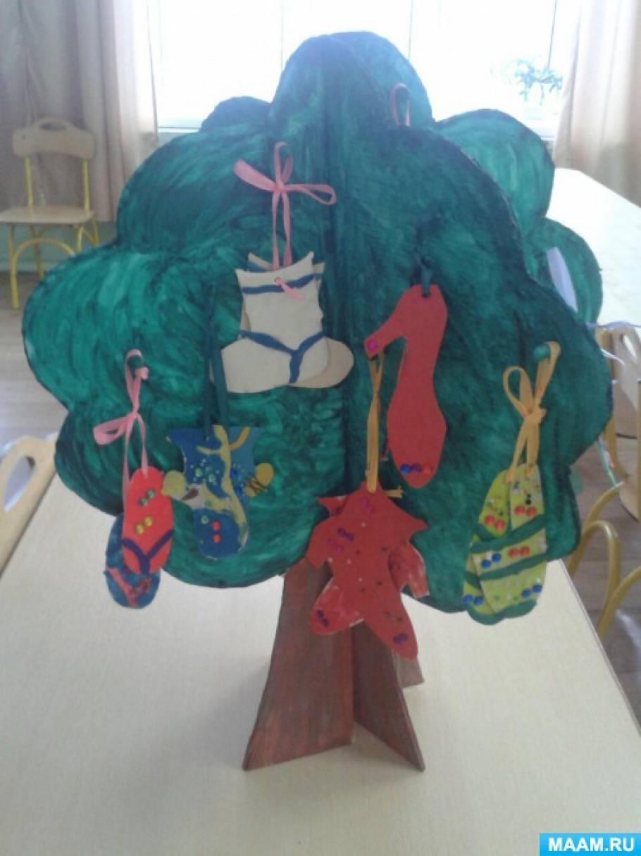 Конспект НОД «Чудо-дерево» (Художественно-эстетическое развитие) (возраст детей: 6–7 лет)