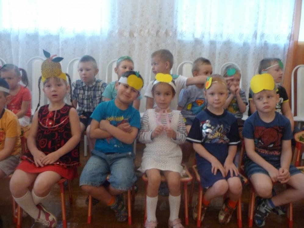 Праздник Яблочного Спаса в детском саду
