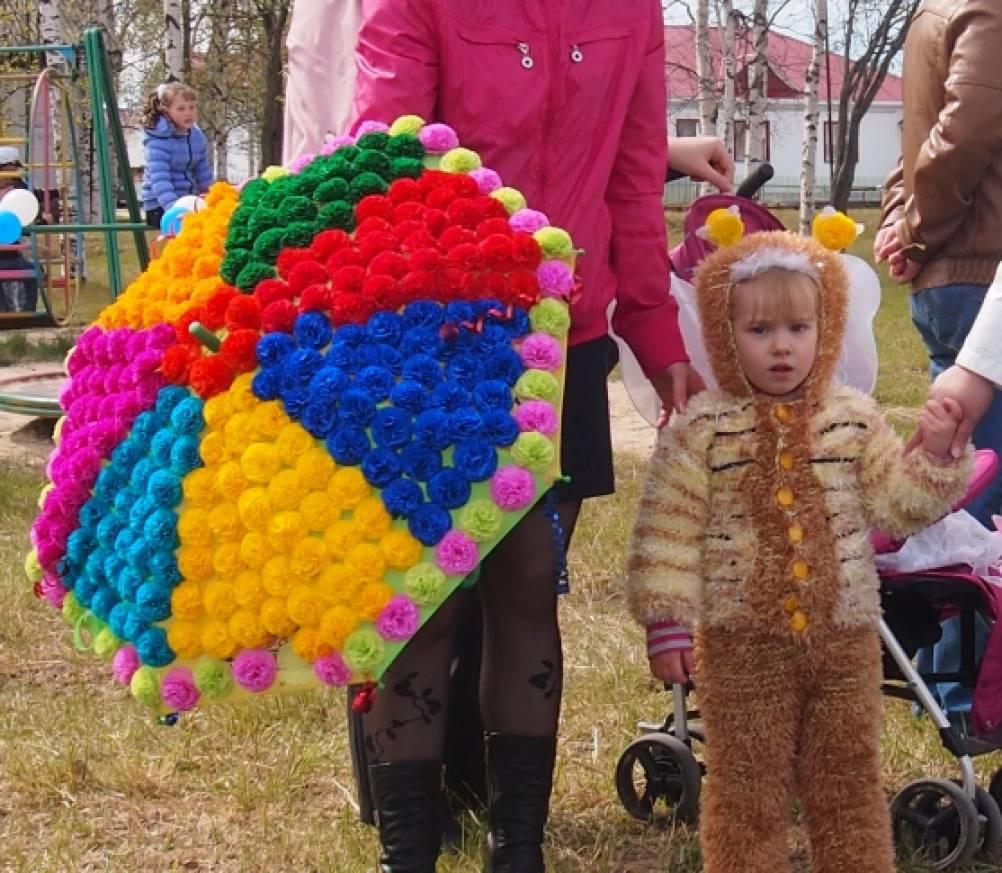 Зонтик на конкурс своими руками 855