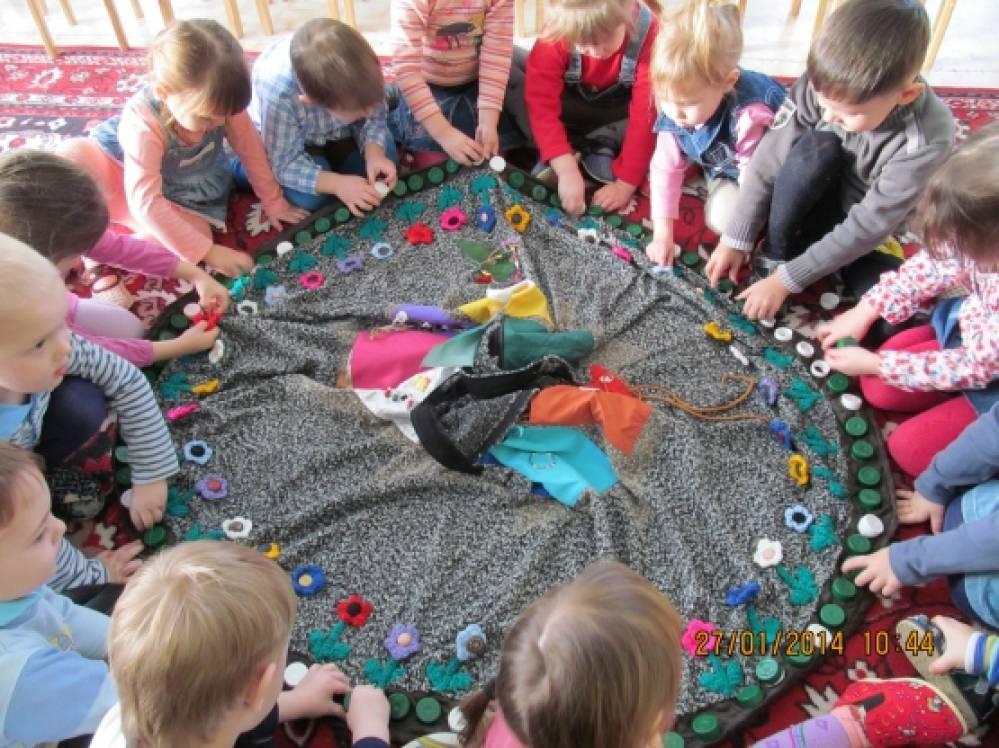 игровые приемы знакомства с детьми