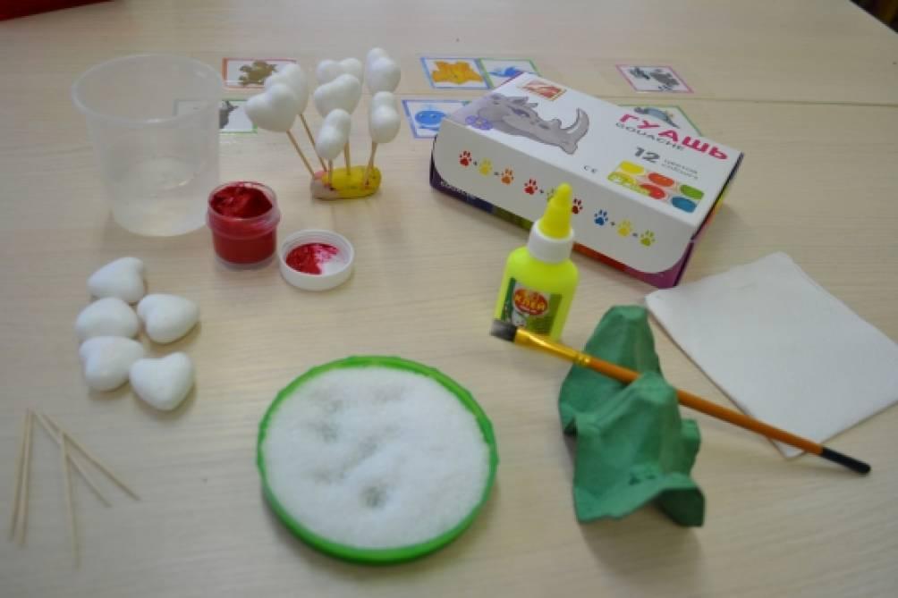 Баночки для клея в детский сад