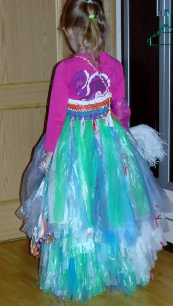 Мастер-класс-проект. Изготовление костюмов из подручных материалов. Воспитателям детских садов, школьным учителям и педагогам -