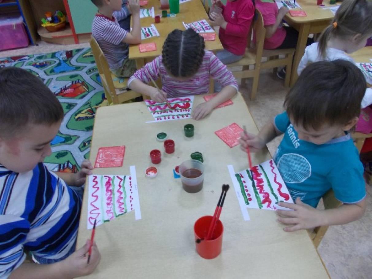 знакомство с русским народным творчеством в средней группе