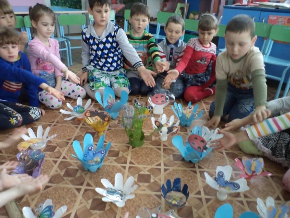 познакомим детей с насекомыми