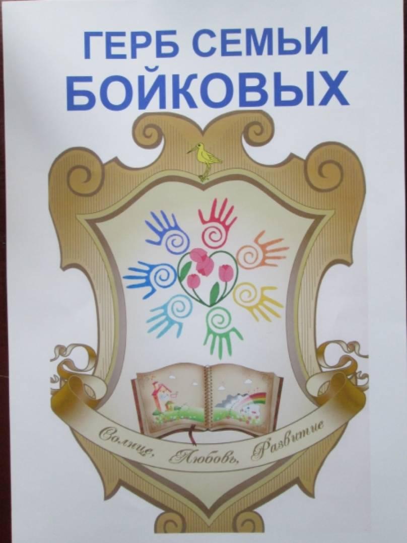 образцы гербов семьи в картинках помощь, как