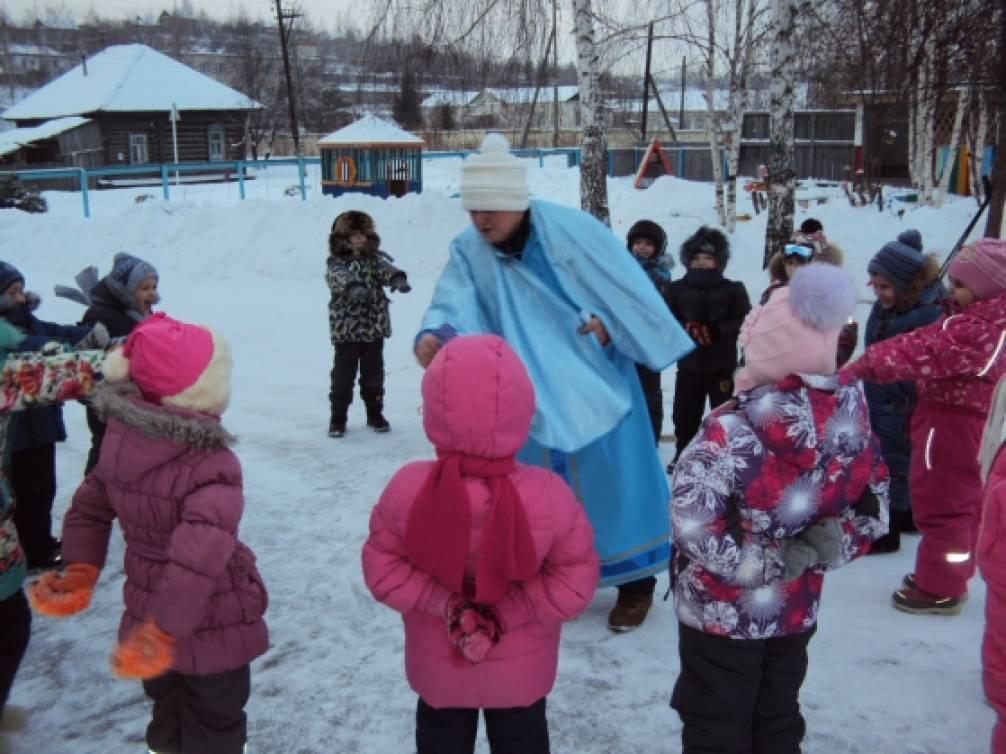 «Пришла зима — веселье детям принесла!» Спортивное развлечение для детей старшего дошкольного возраста