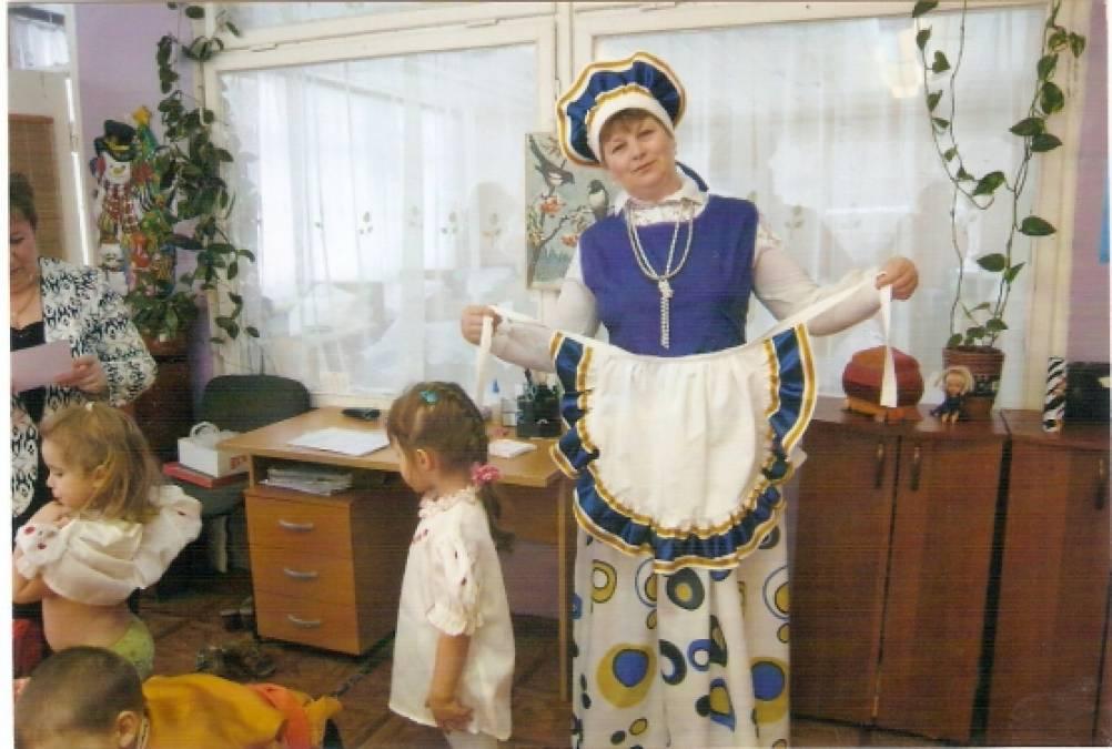 знакомство дошкольников с народной культурой