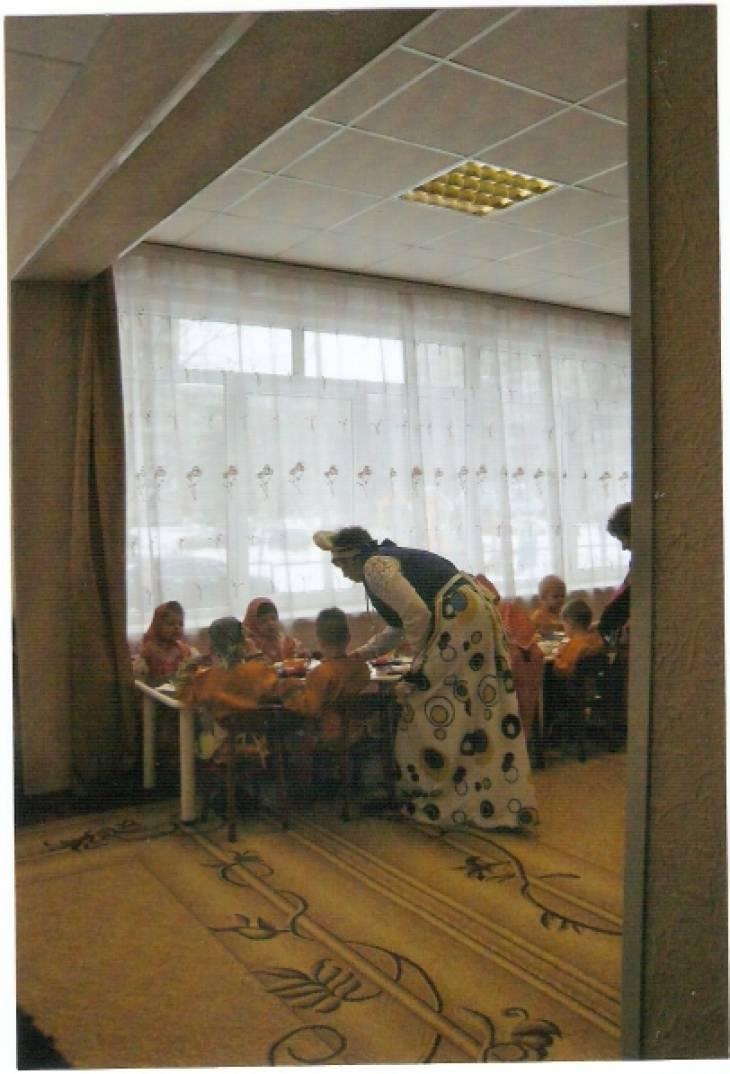 знакомство детей с народной культурой