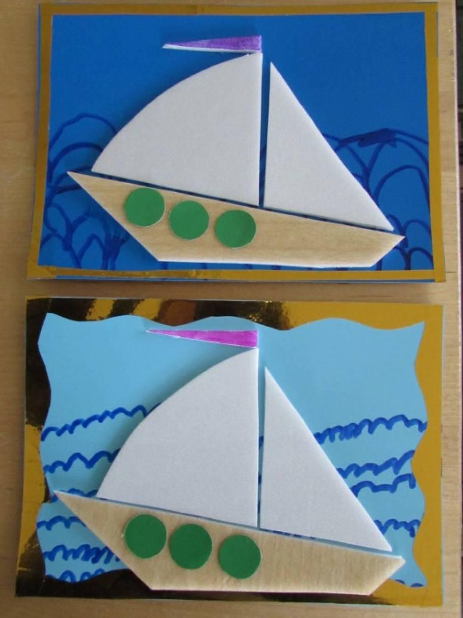 Поделка кораблик детский сад 50