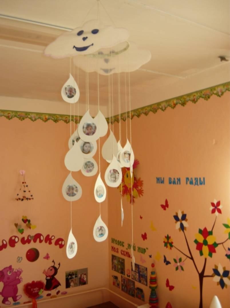 оформление в детском саду группа капельки картинки