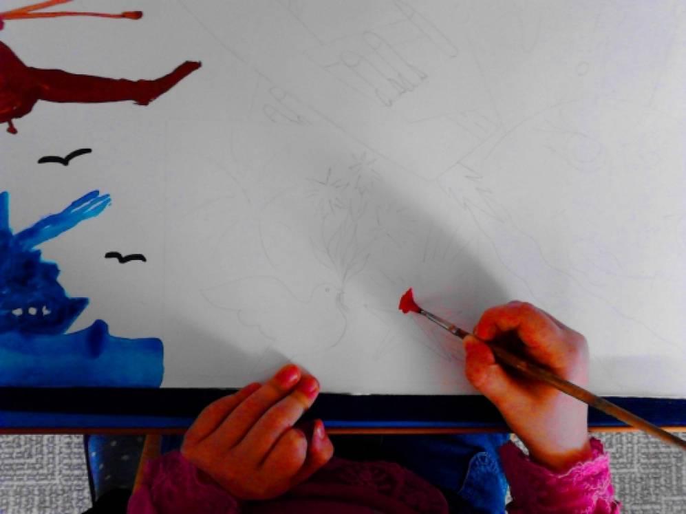 Коллективные поделки для детей своими руками 159