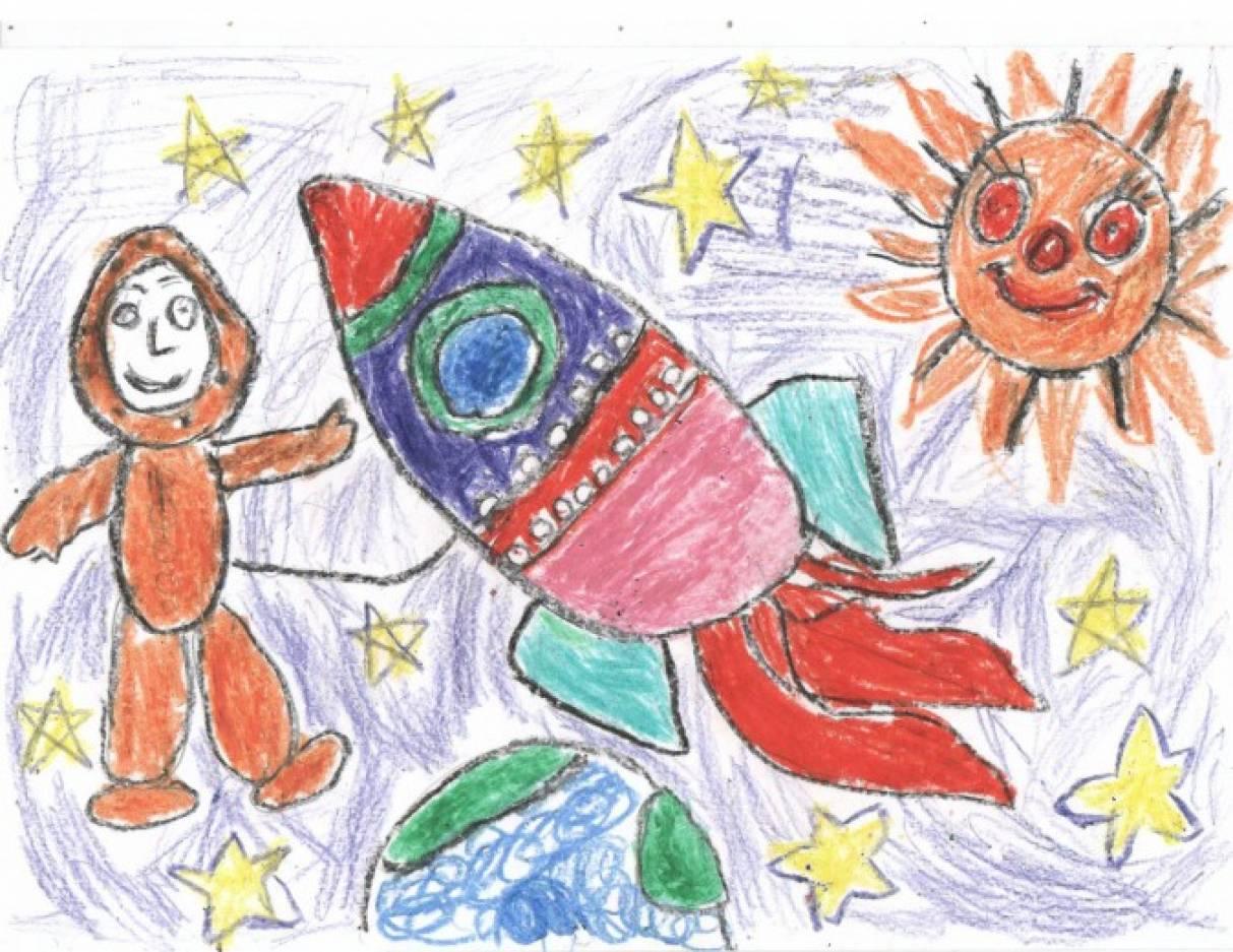 Рисунки на асфальте мелками для детей конкурс