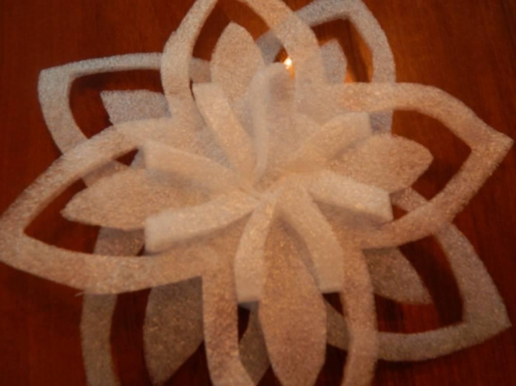 Поделки из подложки под ламинат