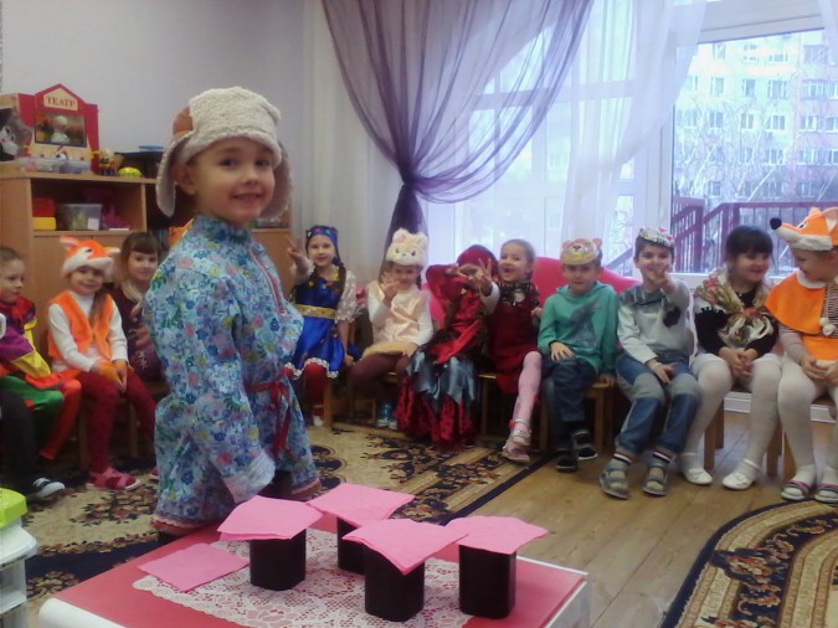 знакомство с русским костюмом в подготовительной группе