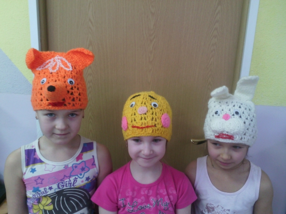 Шапочки-маски для детского театра