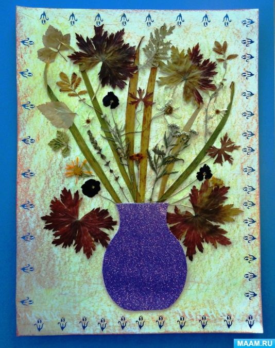 Фотоотчет детских творческих работ «Осень, осень к нам пришла!»