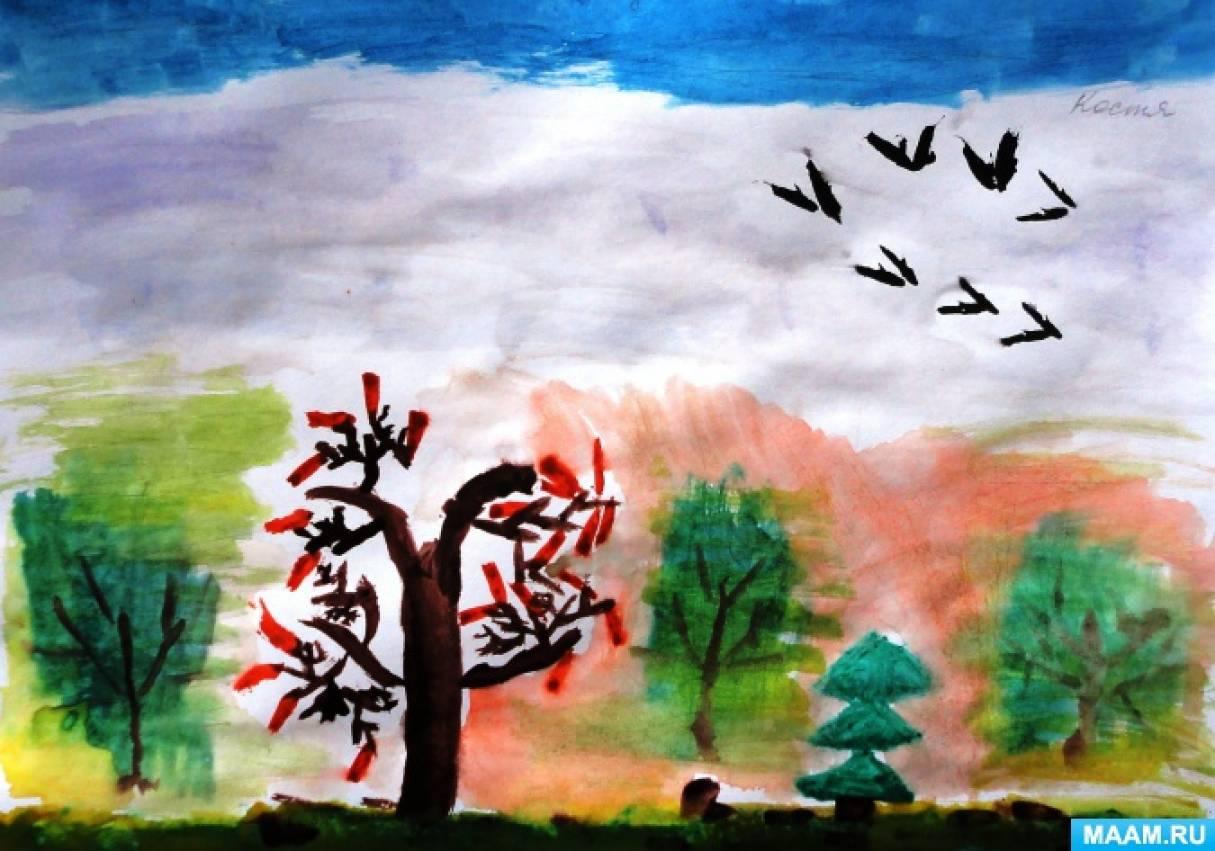 Фотоотчет творческих детских работ «Осень, осень к нам пришла!» (продолжение)