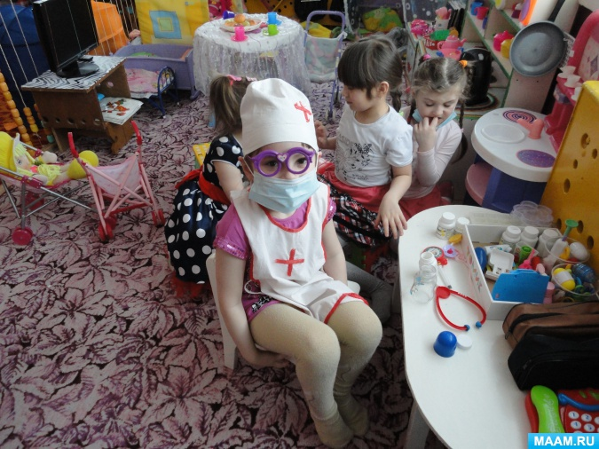 Ежедневное планирование воспитательно-образовательной работы с детьми разновозрастной группы 4–7 лет