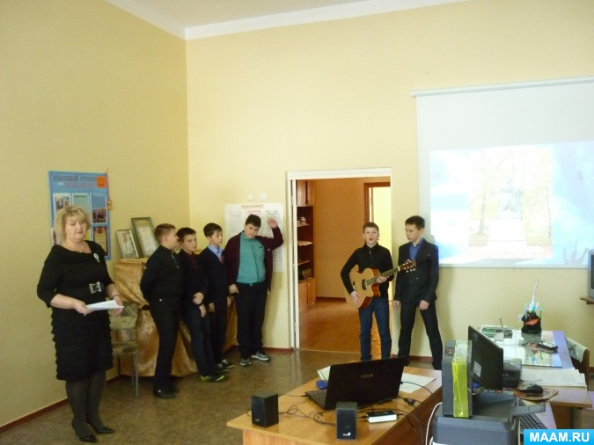 Конспект открытого урока по музыке для 6 класса школы-интерната для детей с нарушениями речи «На фоне Пушкина»
