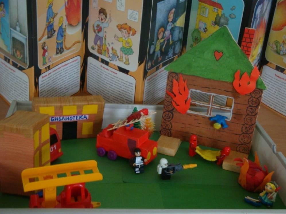 знакомство с профессией пожарный старшая группа