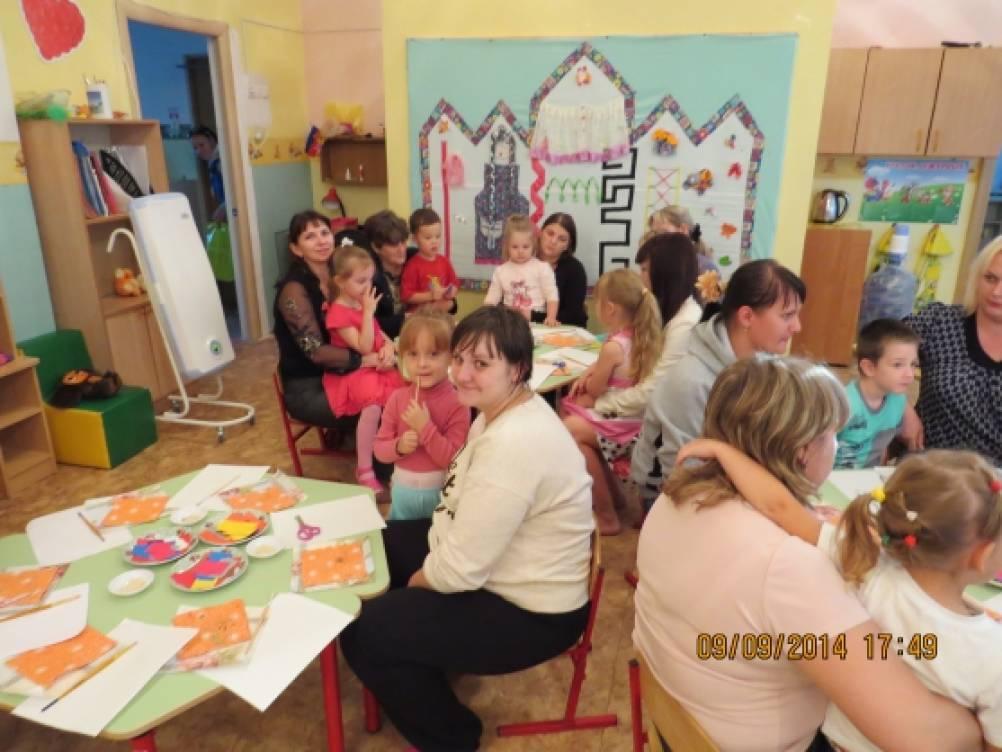 Мастер класс для детей средней группы доу