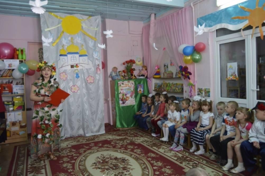 Сценарий пасха в детского сада