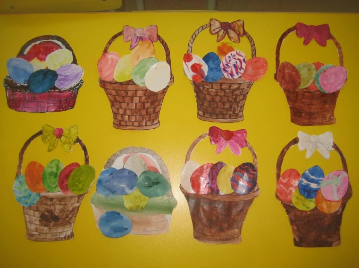 Детский мастер-класс «Пасхальная корзинка»