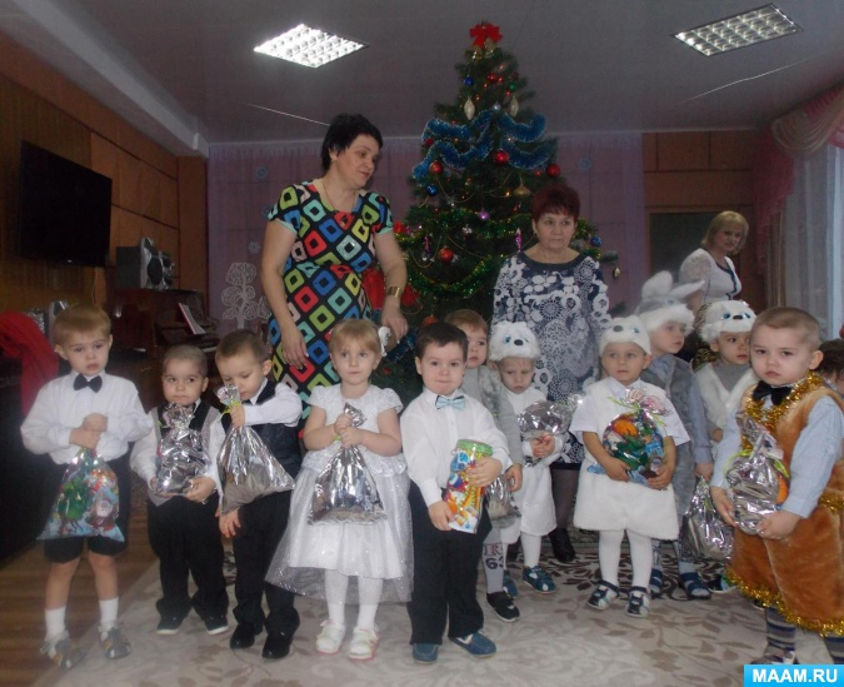 Новогоднее поздравление для деда мороза от детей