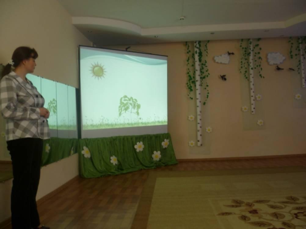 Конспект открытого показа непосредственной образовательной деятельности «Русская березка»