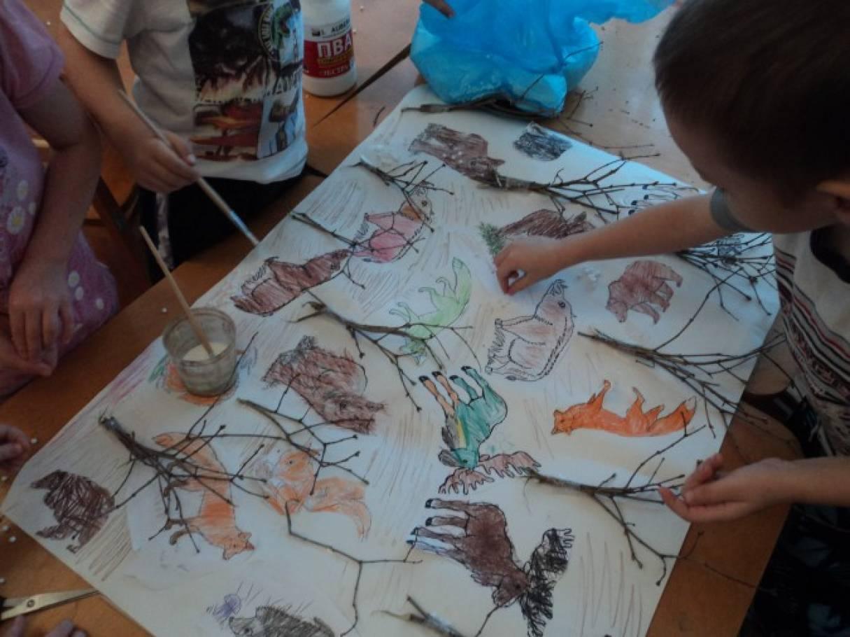 Рисование на наждачной бумаге–один из способов нетрадиционного рисования, влияющий на эмоциональное состояние дошкольника