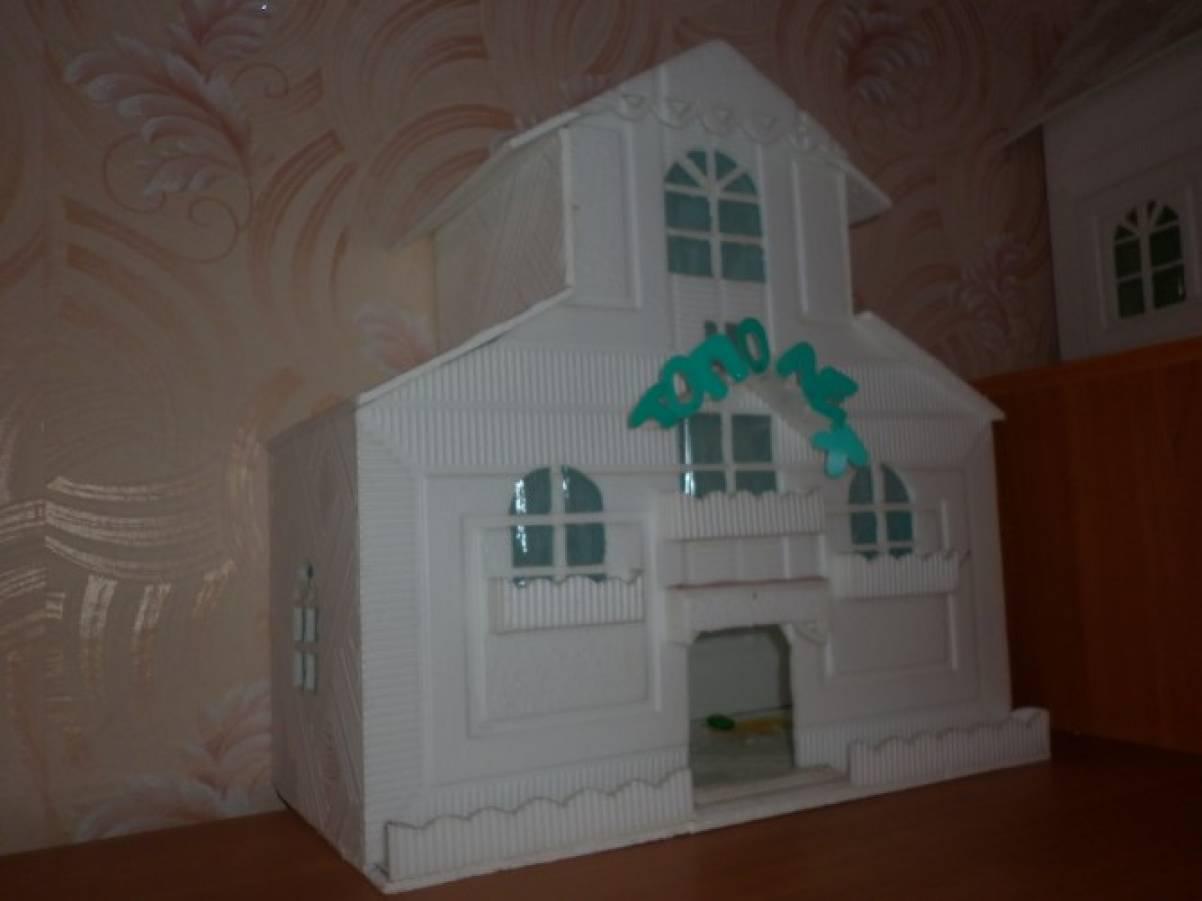 Дома из потолочной плитки своими руками