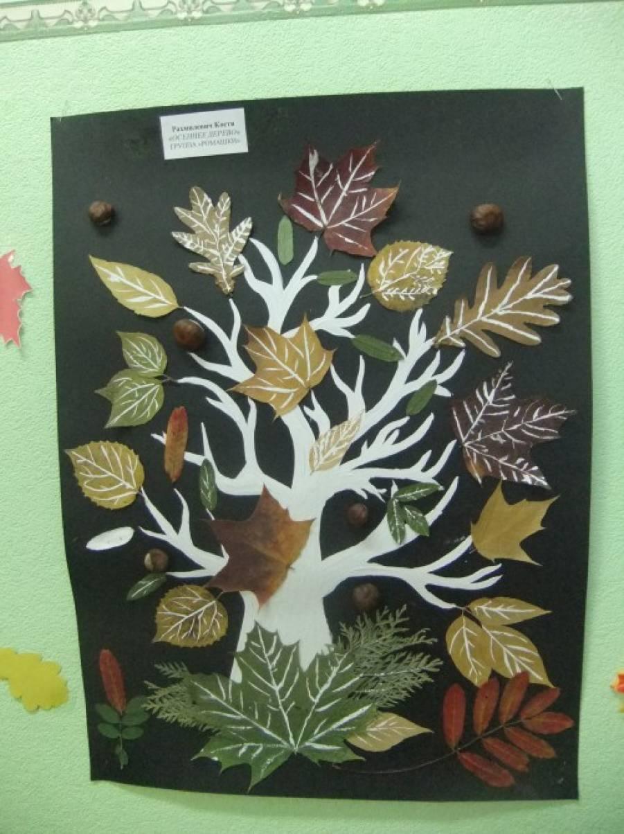 Поделки из даров леса