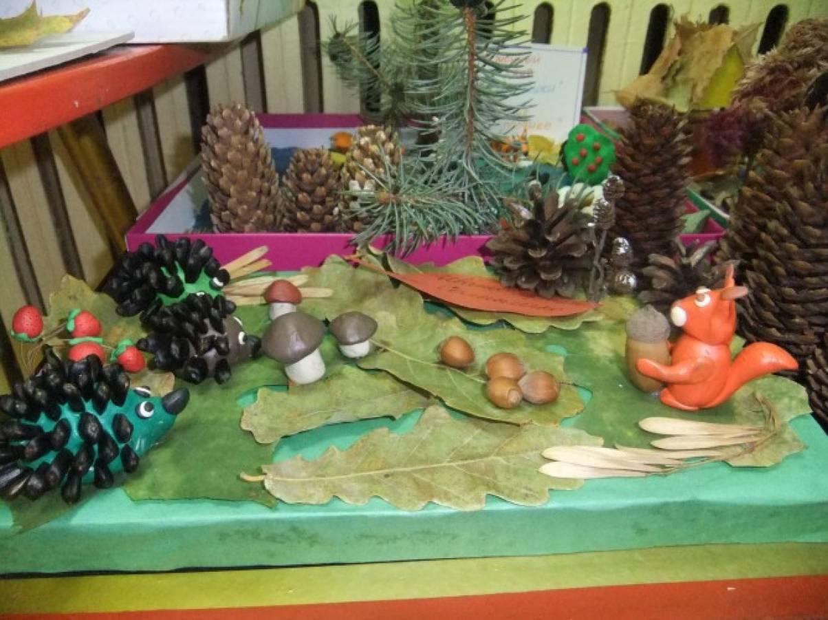 Лесные поделки в детский сад 9