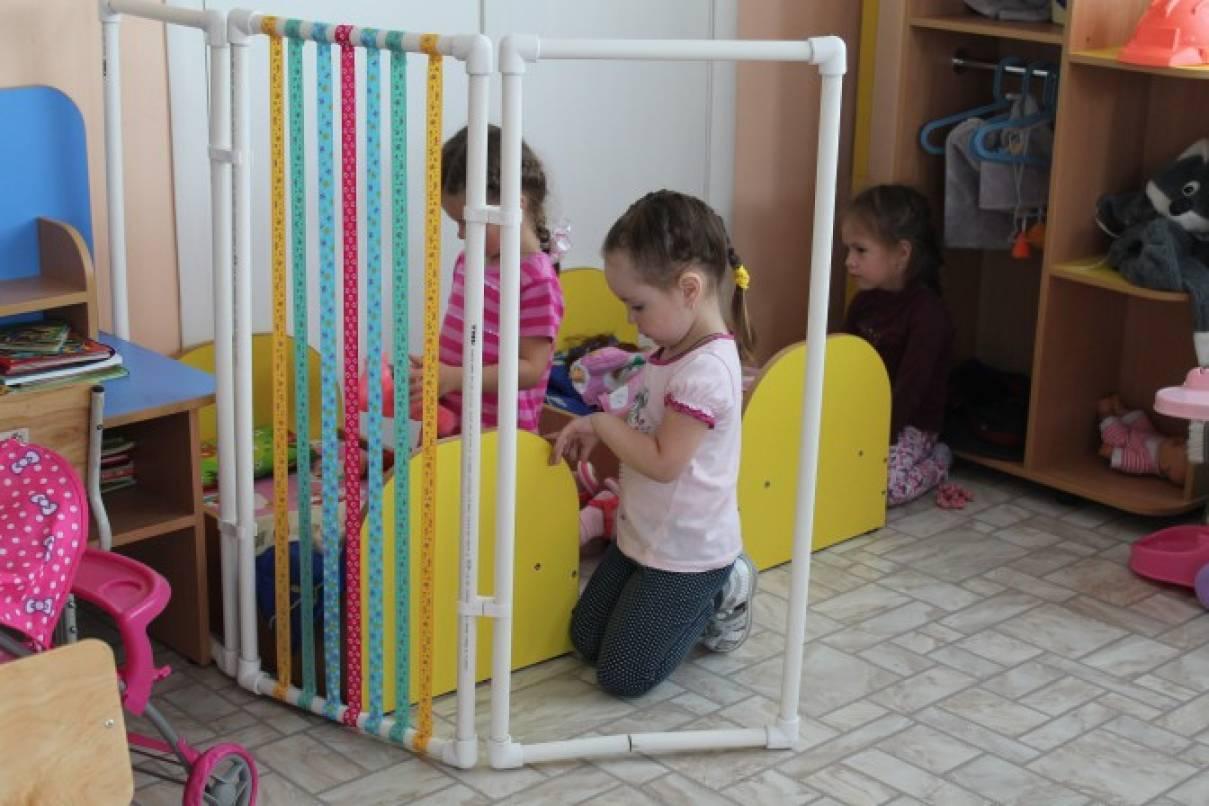 Ширмы для детского сада своими руками фото из труб 298