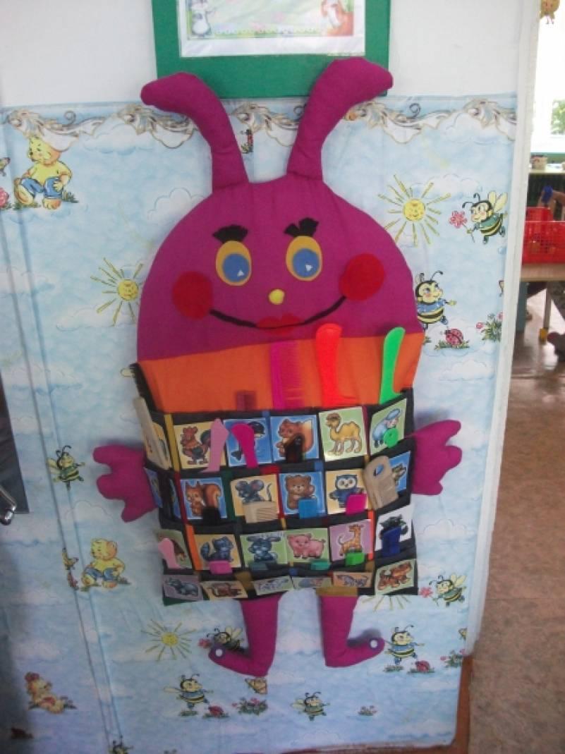 Кармашки для расчесок в детский сад